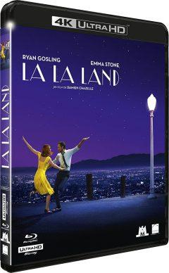 La La Land (2016) de Damien Chazelle - Packshot Blu-ray 4K Ultra HD