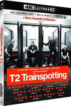 T2 Trainspotting 2 (2017) de Danny Boyle - Packshot Blu-ray 4K Ultra HD