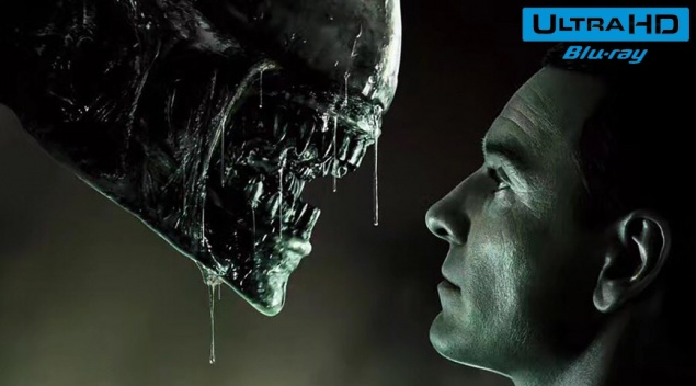 Alien : Covenant (2017) de Ridley Scott – Blu-ray 4K Ultra HD