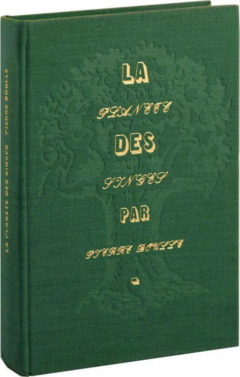 La Planète des singes - Couverture livre Pierre Boulle 1963