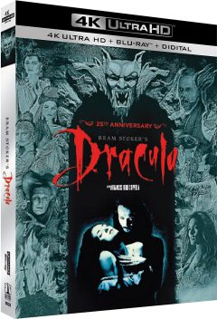 Dracula (1992) de Francis Ford Coppola - Packshot Blu-ray 4K Ultra HD