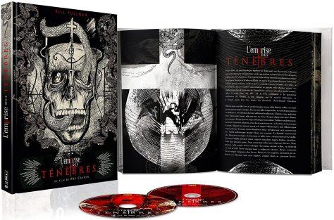 L'Emprise des ténèbres (1988) de Wes Craven - Packshot Collector Blu-ray + DVD + Livre