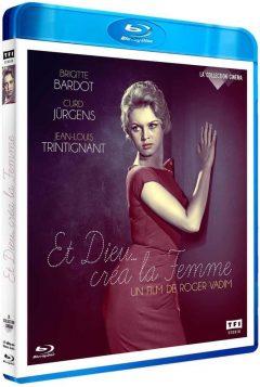 Et Dieu... créa la femme (1956) de Roger Vadim - Packshot Blu-ray