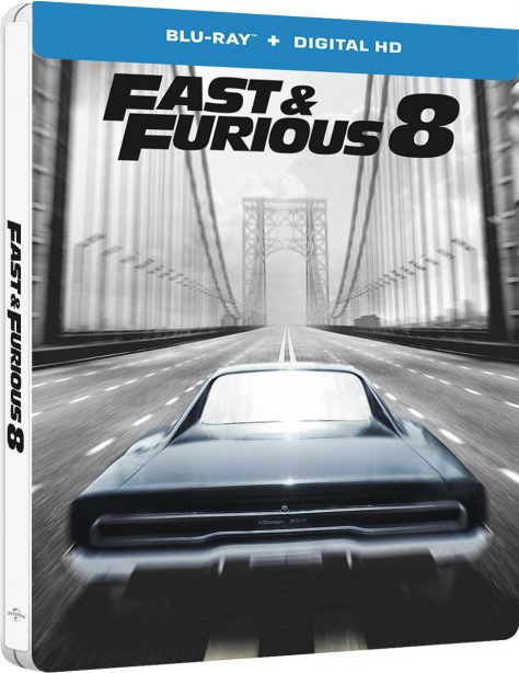 Fast and Furious 8 - Jaquette Blu-ray