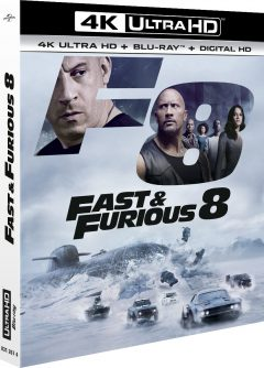 Fast & Furious 8 (2017) de F. Gary Gray - Packshot Blu-ray 4K Ultra HD