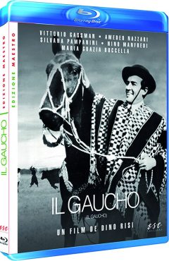 Le Gaucho (1964) de Dino Risi - Packshot Blu-ray