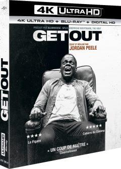 Get Out (2017) de Jordan Peele - Packshot Blu-ray 4K Ultra HD