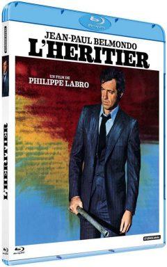 L'Héritier (1973) de Philippe Labro - Packshot Blu-ray