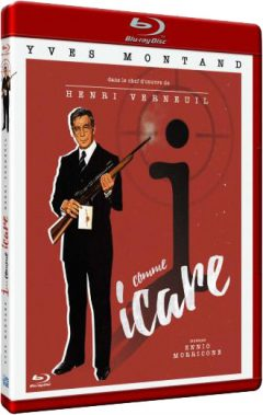 I... Comme Icare - Jaquette Blu-ray basse def