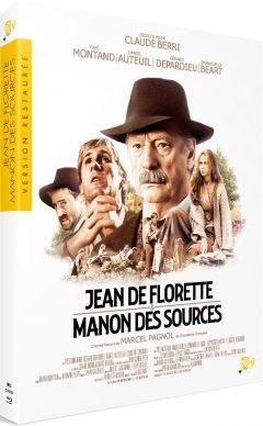 Jean de Florette (1986) + Manon des Sources (1986) de Claude Berri - Packshot Blu-ray