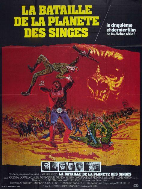 La Bataille de la planète des singes - Affiche fr