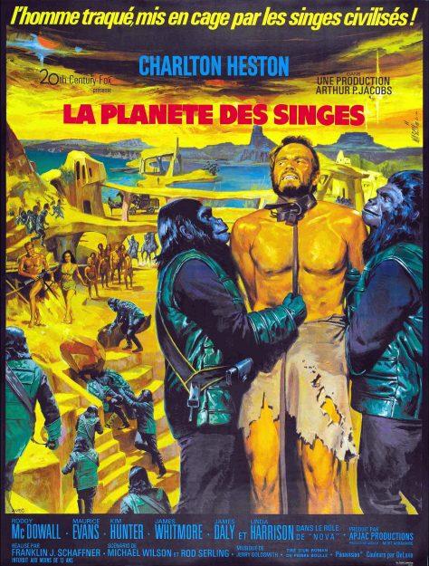 La Planète des singes - Affiche France 1968