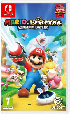 Mario + The Lapins Crétins : Kingdom Battle - Nintendo Switch (Packshot)