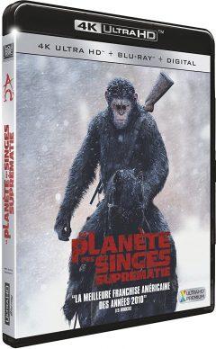La Planète des Singes - Suprématie (2017) de Matt Reeves - Packshot Blu-ray 4K Ultra HD