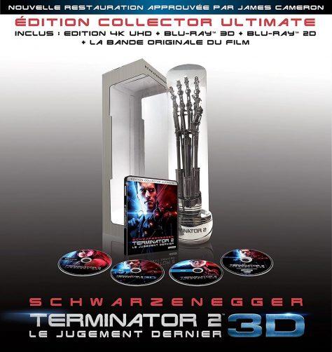 Terminator 2 : Le Jugement dernier (1991) de James Cameron - Édition Collector Ultimate - Blu-ray 4K Ultra HD