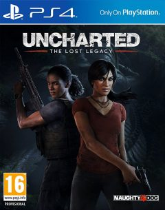 Uncharted : The Lost Legacy - Jaquette PlayStation 4