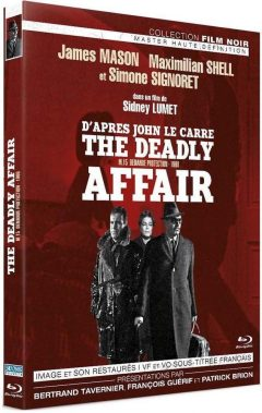 The Deadly Affair (1966) de Sidney Lumet - Packshot Blu-ray