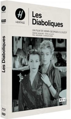 Les Diaboliques (1955) de Henri-Georges Clouzot - Packshot Blu-ray