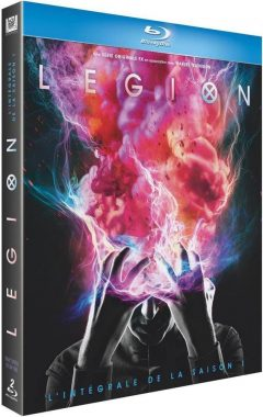 Legion - Saison 1 (2017) de Noah Hawley - Packshot Blu-ray