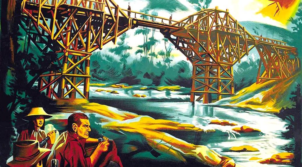 Le Pont de la rivière Kwai (1957) de David Lean