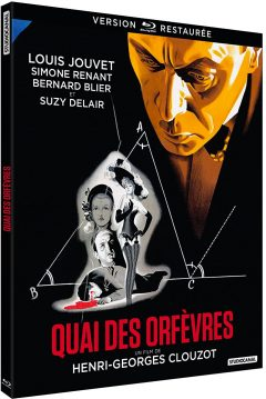 Quai des Orfèvres (1947) de Henri-Georges Clouzot - Packshot Blu-ray