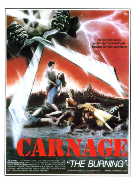 Carnage (1981) - Affiche d'origine française