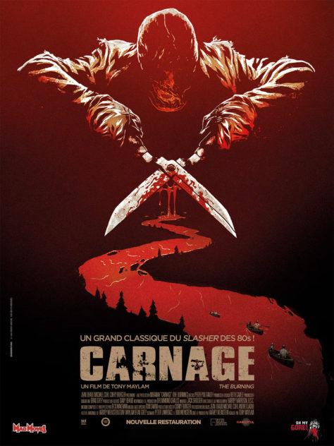 Carnage (1981) - Affiche France reprise 2017