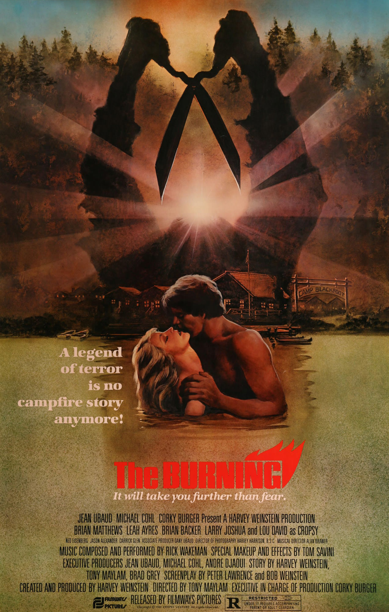 Carnage (The Burning) - Affiche US d'origine