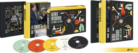 Coffret Alfred Hitchcock : les années Selznick - Blu-ray ouvert