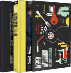 Coffret Alfred Hitchcock : les années Selznick - Recto jaquette Blu-ray 3D