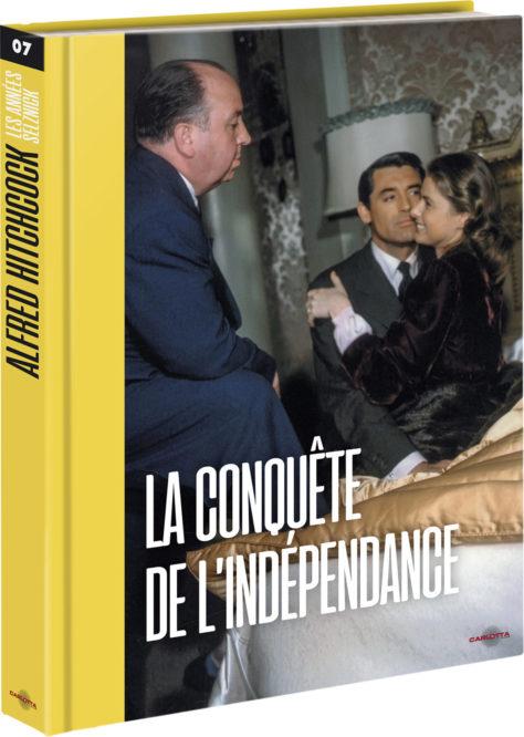 La Conquête de l'indépendance - Recto Livre - Coffret Alfred Hitchcock : les années Selznick