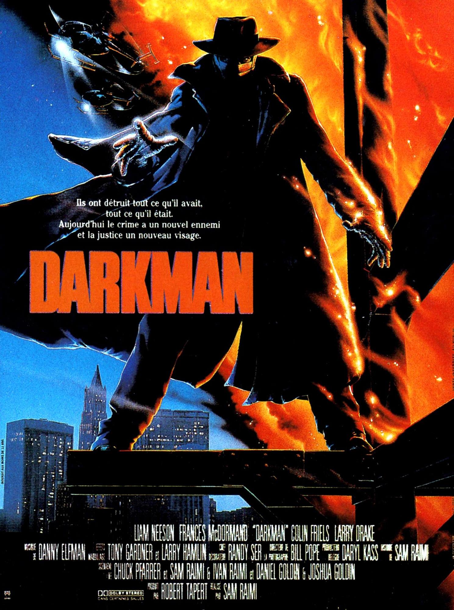 Darkman - Affiche