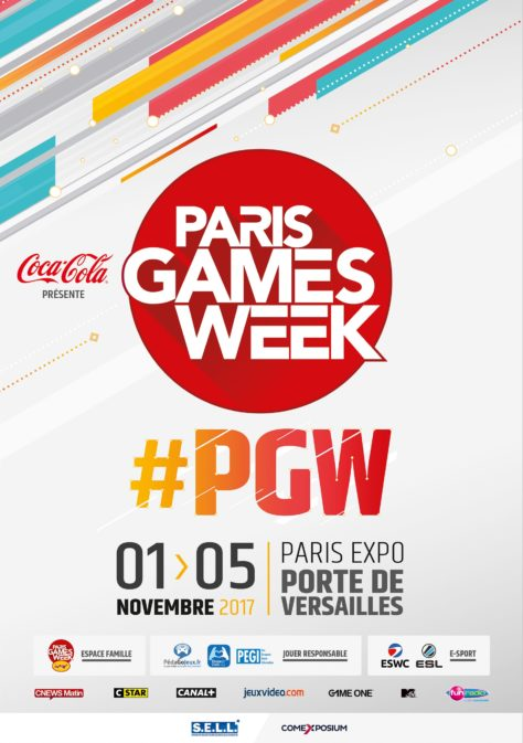Paris Games Week 2017 - Affiche