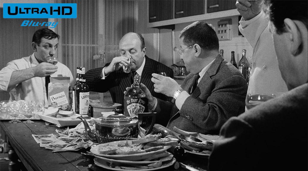 Les Tontons flingueurs (1963) de Georges Lautner - Blu-ray 4K Ultra HD