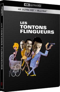 Les Tontons flingueurs (1963) de Georges Lautner - Packshot Blu-ray 4K Ultra HD
