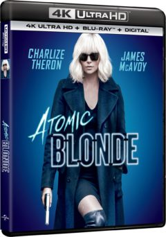Atomic Blonde (2017) de David Leitch - Packshot Blu-ray 4K Ultra HD