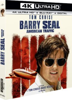 Barry Seal : American Traffic (2017) de Doug Liman - Packshot Blu-ray 4K Ultra HD