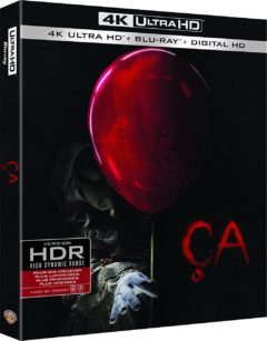 Ça (2017) de Andy Muschietti - Packshot Blu-ray 4K Ultra HD