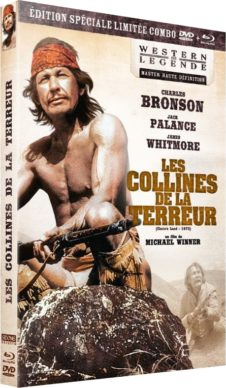 Les Collines de la terreur (1972) de Michael Winner - Packshot Blu-ray