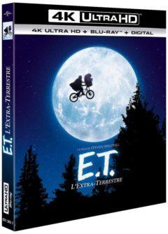 E.T., l'Extra-Terrestre (1982) de Steven Spielberg - Packshot Blu-ray 4K Ultra HD