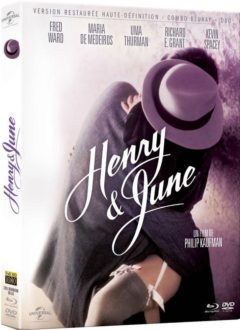 Henry et June (1990) de Philip Kaufman - Packshot Blu-ray