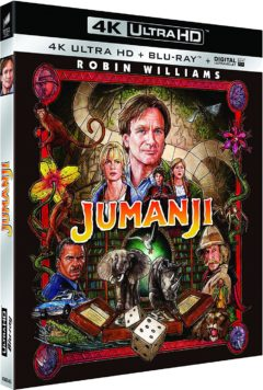 Jumanji (1985) de Joe Johnston - Packshot Blu-ray 4K Ultra HD