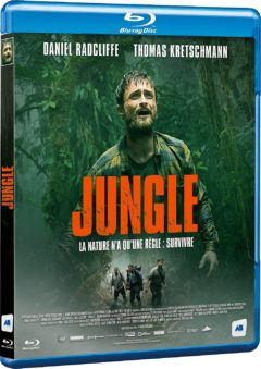 Jungle (2017) de Greg McLean - Packshot Blu-ray