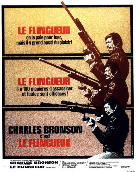 Le Flingueur (1972) - Affiche France
