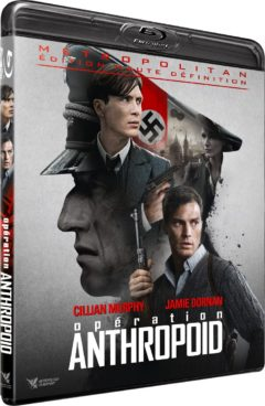 Opération Anthropoid (2016) de Sean Ellis - Packshot Blu-ray