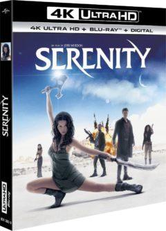 Serenity (2005) de Joss Whedon - Packshot Blu-ray 4K Ultra HD