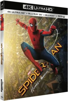 Spider-Man : Homecoming (2017) de Jon Watts - Packshot Blu-ray 4K Ultra HD