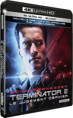 Terminator 2 (1991) de James Cameron - Packshot Blu-ray 4K Ultra HD