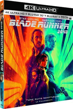 Blade Runner 2049 (2017) de Denis Villeneuve - Packshot Blu-ray 4K Ultra HD