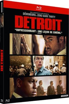 Detroit (2017) de Kathryn Bigelow - Packshot Blu-ray